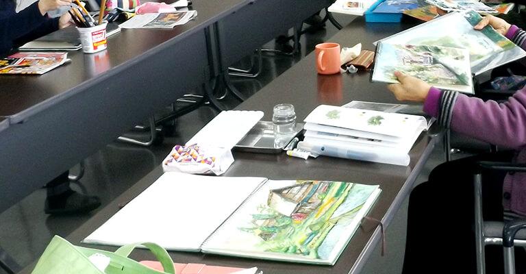 サザンクス筑後 水彩画教室