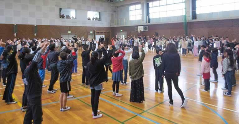 サザンクス筑後アウトリーチ事業ダンス体験プログラム